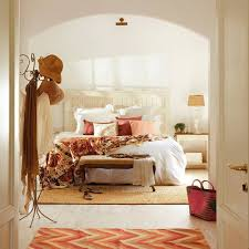 Spanish Bedroom Furniture by Cozy Modern House In Spain With Bright Interior Decorating And