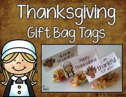 thanksgiving gift bag tags freebie by a is for apples tpt
