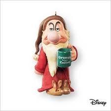 2007 disney snow white grumpy before coffee hallmark