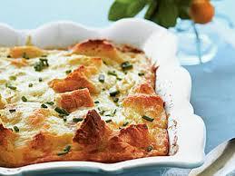 egg strata casserole creamy egg strata recipe myrecipes
