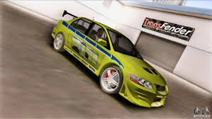 mitsubishi evolution 7 mitsubishi lancer evo vii 2f2f for gta san andreas
