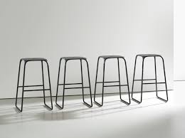 bar stools black metal bar stool with back and square seat also