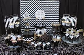 35 black and white new year u0027s eve party table decorations