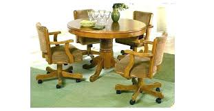 rolling dining room chairs alluring beautiful kitchen outstanding swivel dining room chairs