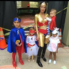 Superhero Halloween Costume Kourtney Kardashian Superhero Halloween Costume Picture Popsugar