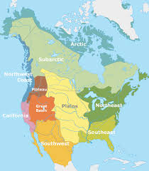 North America Climate Map by Native American Cultures In The United States Wikipedia