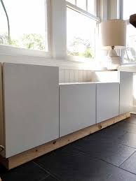 ikea kitchen cabinets free standing building a freestanding window bench from ikea cabinets one