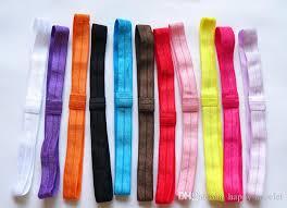 elastic headbands stretchy elastic headbands with loop baby shimmery