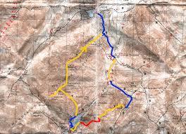 Algonquin Map Adirondack High Peak Series Mt Colden And Boundary Iroquois