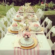 tea party table decoration ideas home design