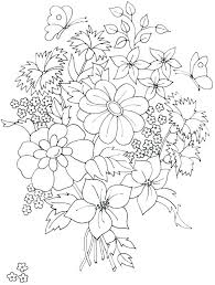 printable coloring pages of pretty flowers pretty flower coloring pages pretty flower coloring pages beautiful