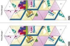 trihexaflexagons literacy and numeracy week australian government
