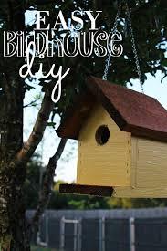 pb j summer fun birdhouse diy