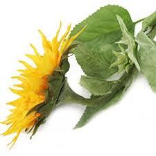 Artificial Sunflowers Floral Elegance Artificial 88cm Single Stem Golden Yellow