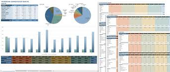 templates for business budgets all the best business budget templates smartsheet