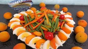 recette cuisine d été salade d été aux abricots recette entrées salades supertoinette
