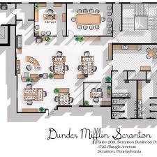 dunder mifflin floor plan the office us tv show office floor plan dunder mifflin scranton