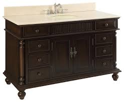 53 wood solid large single sink brockton bathroom vanity