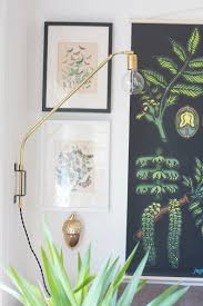 diy brass swing lamp hello lidy