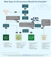 how to choose the right life insurance policy infographic post