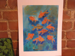 feng shui art goldfish open spaces feng shui