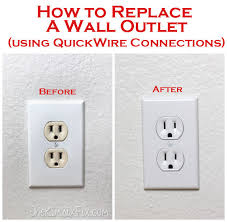 3 way l socket replacement how to replace electrical outlets using quickwire push in