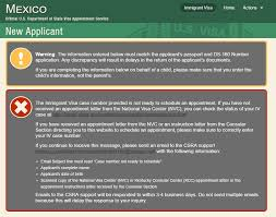 Kentucky travel visas images Case not ready to schedule mexico latin south america JPG