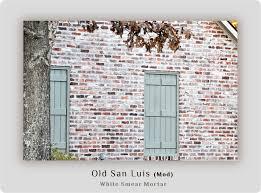 white smear mortar home build inspiration pinterest smeared