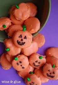 halloween pretzel peanut butter pretzel pumpkins wine u0026 glue