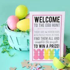 easter egg hunt eggs puzzle easter egg hunt no candy egg hunt idea it s always