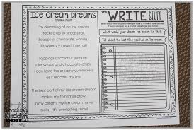 weekly poem work for 2nd grade week 4 freebie teaching maddeness