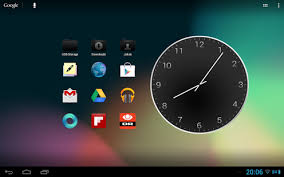 analog clock widgets for android analog clock metal widget 1 1 free