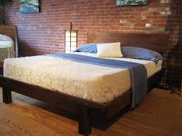 Modern Queen Platform Bed Platform Bed Queen Platform Bed Wood Happywords Dark Wood Bed