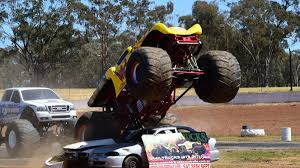 monster truck show video monster trucks ready to rumble in dubbo video photos daily