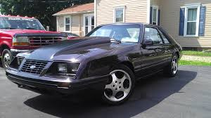Black Fox Body Mustang Robert U0027s 1984 Fox Mustang Foxstang Com
