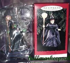 hallmark wizard of oz ornaments ebay