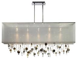 Rectangle Chandeliers Gorgeous Rectangle Chandelier Light Fixture 13 Lights