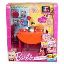 barbie dining room set dinner to dessert dining room set