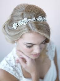 bridal headband charlene vintage headband shop bridal headpieces usabride