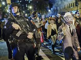 halloween in new york goes on after a terror attack the new yorker