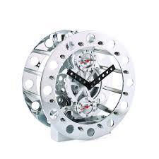 Mechanical Desk Clock | mechanical gear desk clock