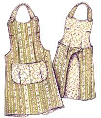 Apron Designs And Kitchen Apron Styles Apron Pattern