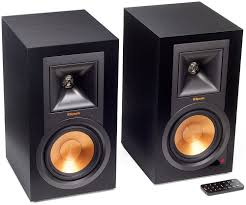 klipsch reference home theater system klipsch reference series ebony powered speakers r 15pm