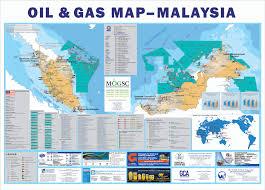 Gas Map малайзия нефть и газ Petronas Iv G