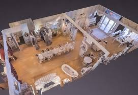 matterport 3d dollhouse view of a life sized doll house