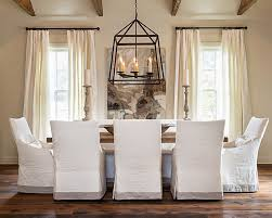 dining room contemporary dining room idea with rectangular wooden Fabric To Cover Dining Room Chairs