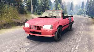 opel pink opel kadett cabrio e for spin tires