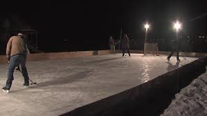 fargo man tries to bring community together with homemade ice