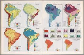 Maps South America by South America Thematic Maps David Rumsey Historical Map Collection