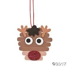 reindeer craft stick ornament craft kit trading